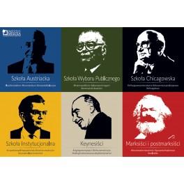Plakat prezentujący szkoły ekonomiczne
