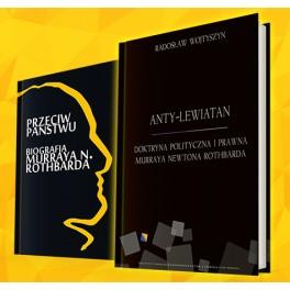 Pakiet książek o Murrayu Rothbardzie