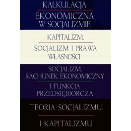 Socjalizm i kapitalizm - pakiet książek